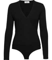 amalie bodystocking t-shirts & tops bodies svart modström