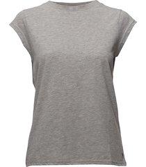 basic tee t-shirts & tops short-sleeved grå coster copenhagen