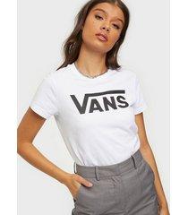 vans wm flying v crew tee t-shirts