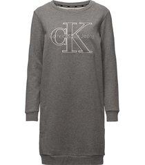 dalis true icon cn h korte jurk grijs calvin klein jeans