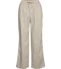 hayley trouser pantalon met rechte pijpen beige filippa k