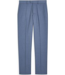 mens blue slim pants
