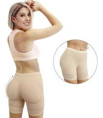 faja panty moldeador invisible uso diario ,levanta cola-control abdomen -color beige