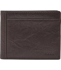 billetera fossil - ml3899200 - hombre