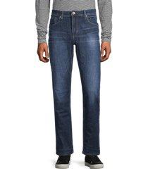 buffalo david bitton men's six-x slim straight jeans - authentic navy - size 31 32