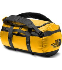 bolso base camp duffel - xs amarillo the north face