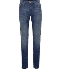 j s k3412 jeans slimmade jeans blå gabba