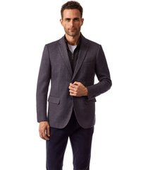 blazer london gris new man