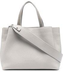 fabiana filippi multi-pocket tote bag - grey