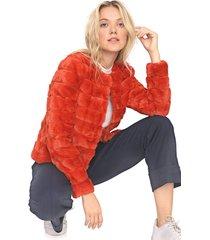 blazer vero moda pelo laranja - kanui