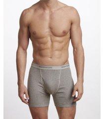 stanfield's premium cotton men's 2 pack boxer brief underwear, plus