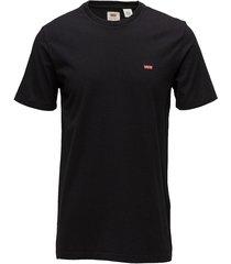 ss original hm tee cotton + pa t-shirts short-sleeved svart levi´s men