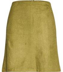 skirts woven kort kjol grön esprit casual