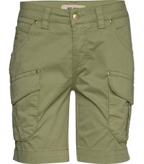 cheryl cargo shorts shorts flowy shorts/casual shorts grön mos mosh