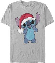 fifth sun men's santa hat stitch short sleeve t-shirt