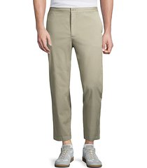 slim-fit lightweight trousers