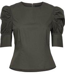 wiliam blouse blouse lange mouwen groen birgitte herskind