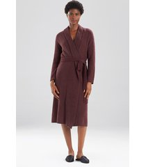 natori serenity cardigan wrap robe, luxury women's robe, size l