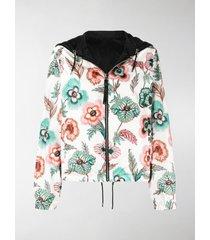 salvatore ferragamo reversible floral-print jacket