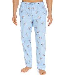club room men's flamingo cotton pajama pants, created for macy's