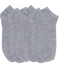 women's basic breathable no show active socks, pack of 6