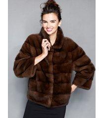 the fur vault mink fur jacket