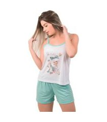 pijama bella fiore modas short doll estampado juliana lilás