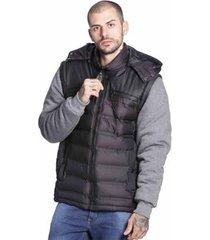 jaqueta colete vlcs proteção térmica masculina