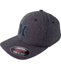 gorra hurley black suits outline-gris oscuro azul s/m