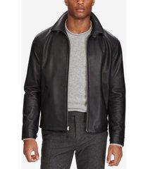 polo ralph lauren men's leather jacket