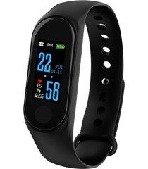 m3 smart watch bracelet/monitor de frecuencia cardíaca pulsera de puls