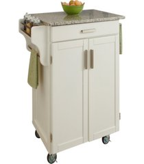 home styles cuisine cart salt and pepper granite top