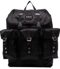 gucci off the grid gg multi-pocket backpack - black