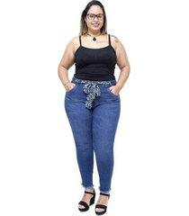 calça jeans cambos plus size skinny isailma cambos jeans feminina