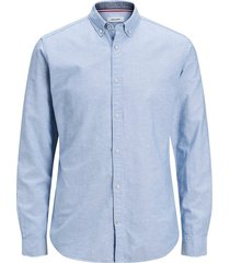 essentials jjesummer shirt l/s s20 sts infinity/slim fit