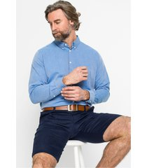business overhemd met visgraatpatroon