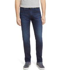 men's ag tellis slim fit jeans, size 31r - blue
