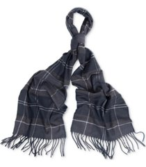 barbour men's galingale tartan scarf