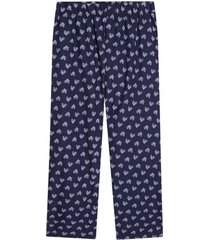 pantalon descanso mujer color azul, talla m