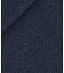 giacca da uomo su misura, loro piana, blu flanella pettinata, autunno inverno | lanieri