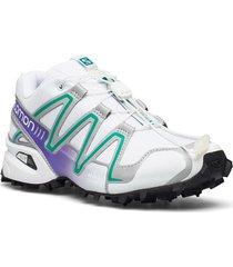 speedcross 3 wht/silver metallic x/paras shoes sport shoes running shoes vit salomon