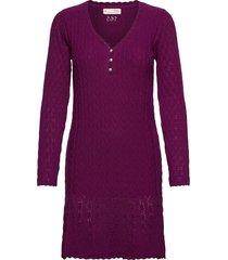maureen dress kort klänning lila odd molly