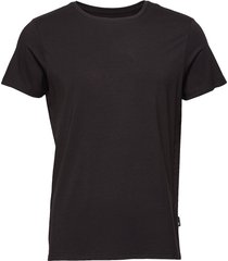 jbs of denmark, o-neck t-shirt t-shirts short-sleeved svart jbs of denmark