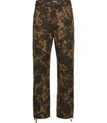 hamish trousers casual broek vrijetijdsbroek bruin wood wood