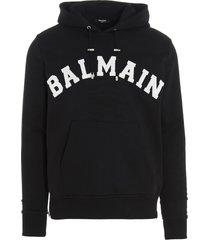 balmain balmain college hoodie