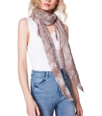steve madden tie-dyed oblong scarf