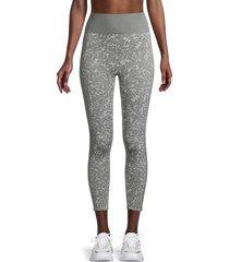splendid women's kylie leopard-print leggings - grey leopard - size l