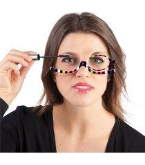 donna occhiali da lettura rotondi occhiali flipup per makeup trucco
