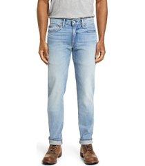 men's kato the pen slim fit jeans, size 36 x 34 - blue/green