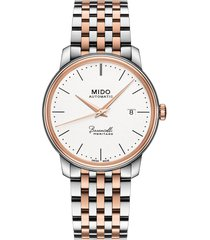 men's mido baroncelli heritage automatic bracelet watch, 39mm
